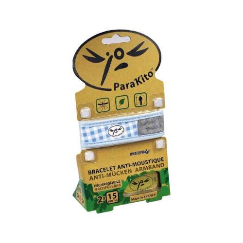 PARA KITO Mückenschutz-Armband inkl. 2 Plättchen
