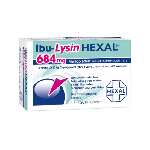 IBU-LYSIN HEXAL 684 mg Filmtabletten