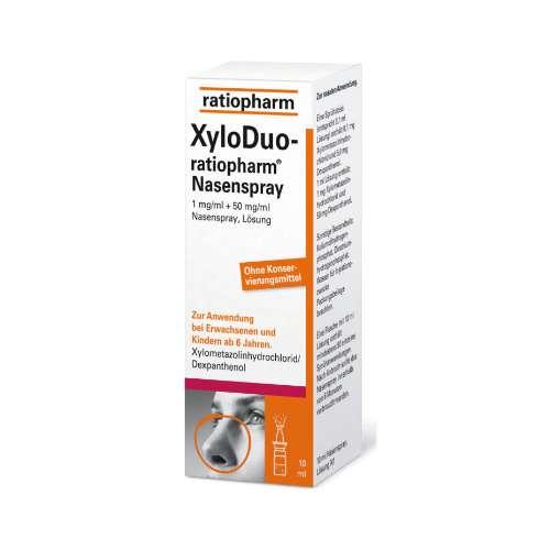 XYLODUO ratio.Nasenspr.1 mg/ml+50 mg/ml o.K.